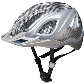 KED Certus K-Star - Casque de vélo - argent